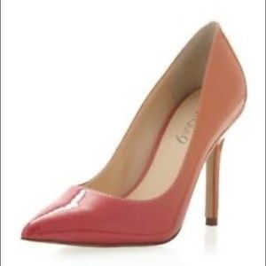 Boutique 9 orange ombré heels